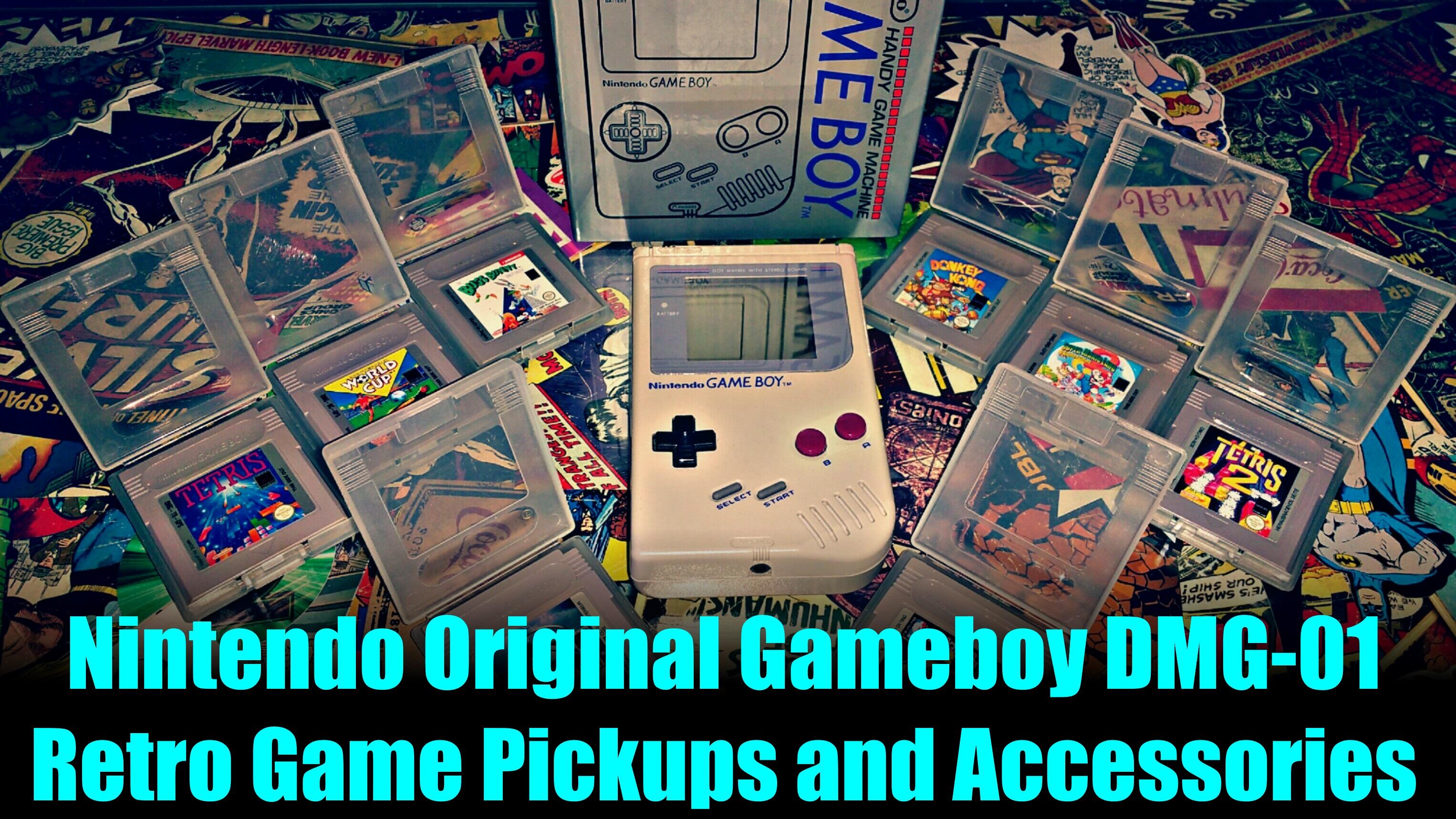 Nintendo Original Gameboy DMG 01 - Retro Game Pickups and Find